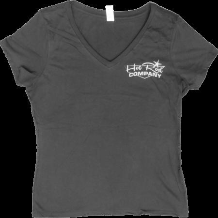 Hot Rod Company women's t-shirt, black (front)