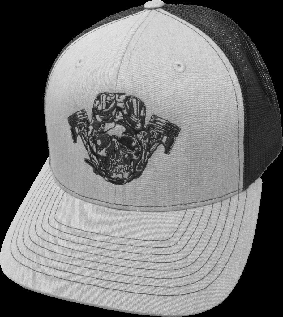 Hot Rod Company logo hat, gray